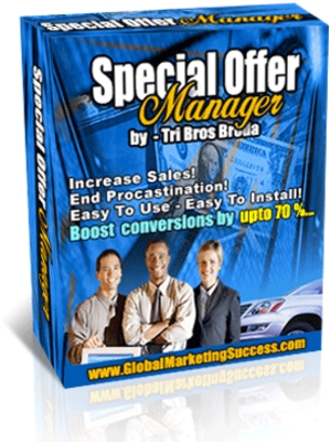 Product picture Special Offer Page Manager Script.