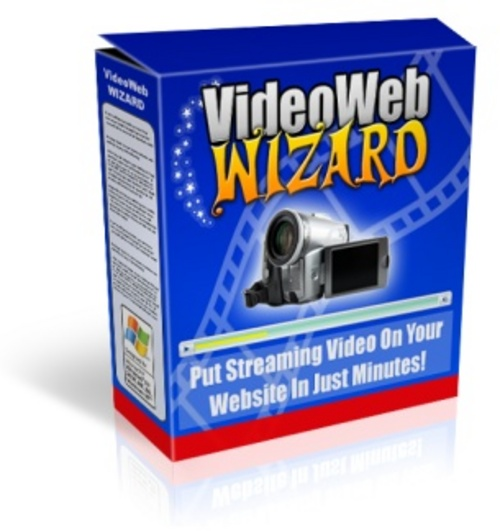 Product picture Video Web Wizard Software Package